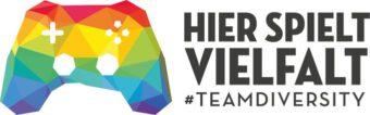 """Logo of """"Hier spielt Vielfalt"""""""